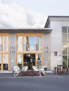 Image de Terrasse et Commerce