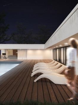 Image de Terrasse et Maison individuelle