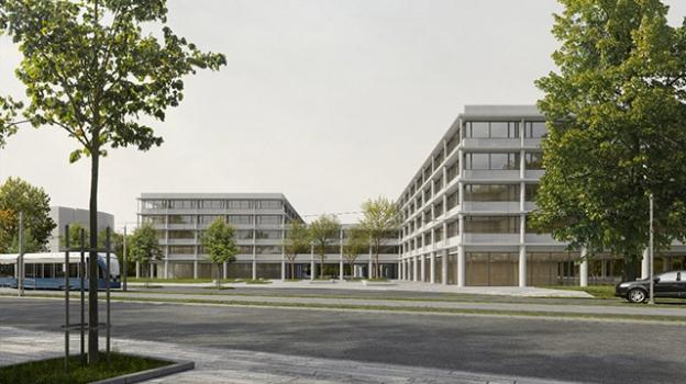 Image de Construction neuve et Bâtiment accueillant du public