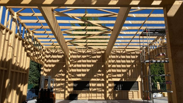 Image de Construction neuve et Bâtiment professionnel